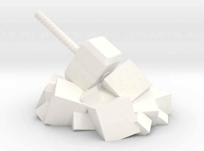Norse Gods' Hammer 3d printed