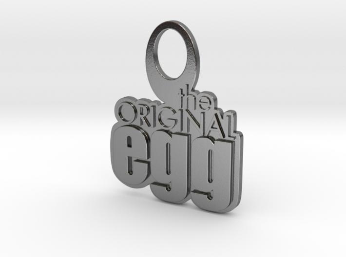 The Original Egg Earrings (Small) 3d printed