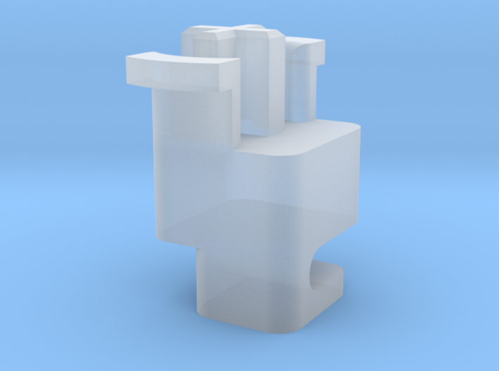 Topre to MX Stabilizer Plunger (Left) 3d printed