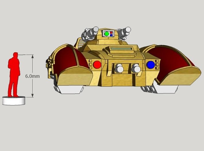 6mm Corona Anti-Grav APC (4pcs) 3d printed