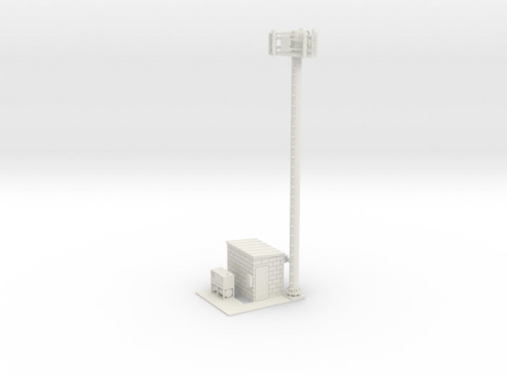 Cell Tower Site 1-87 HO Scale 3d printed