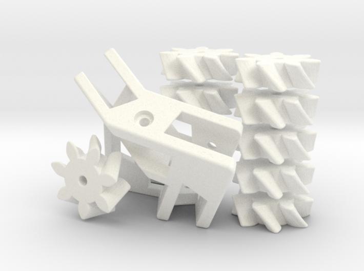 Seven Gear Loop 3d printed