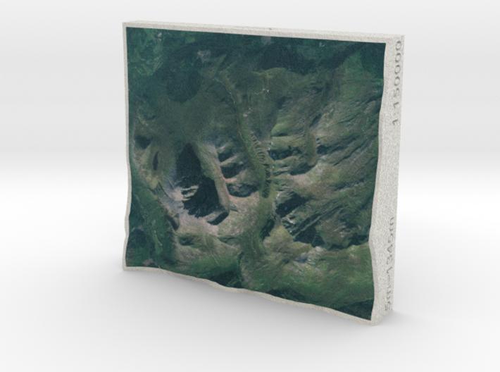Ben Nevis, Scotland, UK, 1:150000 3d printed
