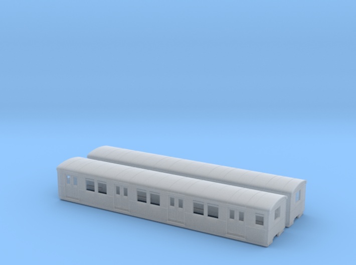 DR ET/EB 165 beiwagen  TT [2x body] 3d printed