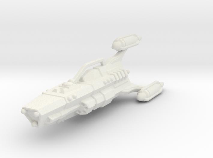 G'jhekk Heavy Cruiser 3d printed