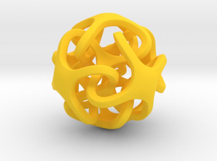 Interlocking Ball based on Cube 3d printed