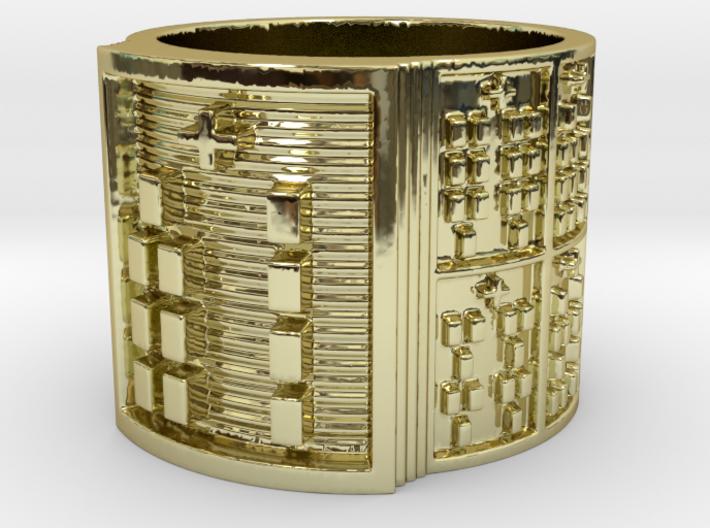 OGBEBARA Ring Size 11-13 3d printed