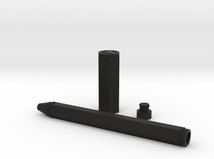 Gel-pen-alex 3d printed black