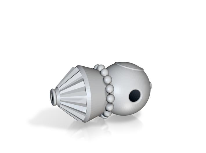 Vostok Pendant 3d printed