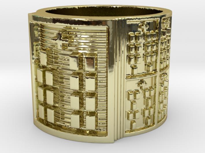 OYEKUNBARA Ring Size 11-13 3d printed