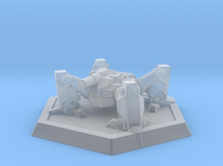 Mecha- Arachnid II (1/937th) 3d printed