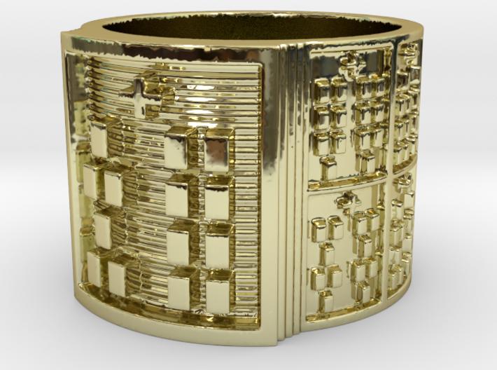 OYEKUNPAKIOSHE Ring Size 13.5 3d printed
