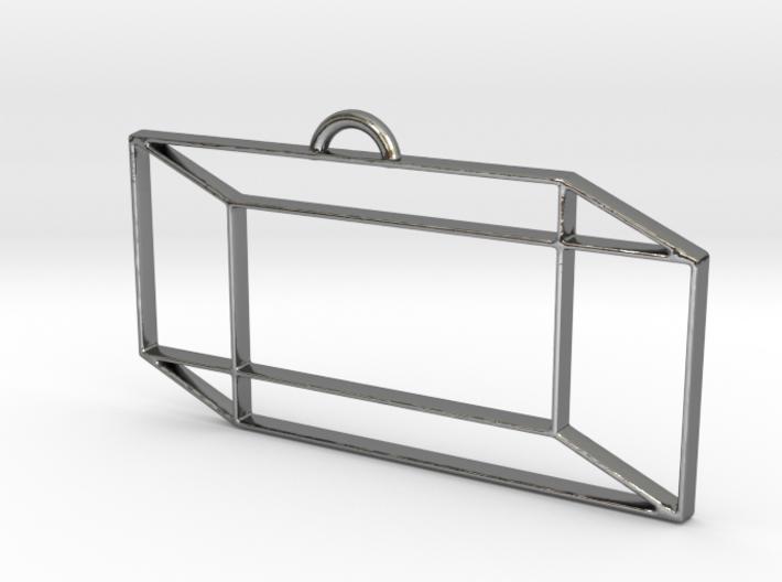 Rectangular Prism Pendant 3d printed