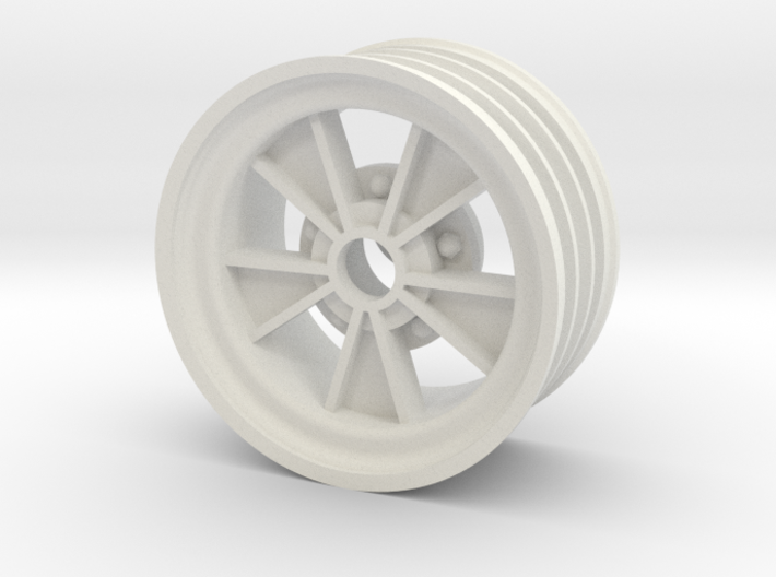 Front SRB BRM retro wheel 3d printed