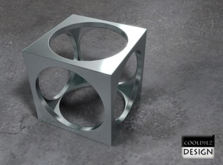 Ring - Cube 3d printed Render