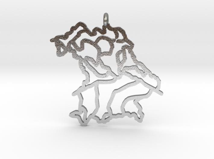 Bavaria Pendant 3d printed