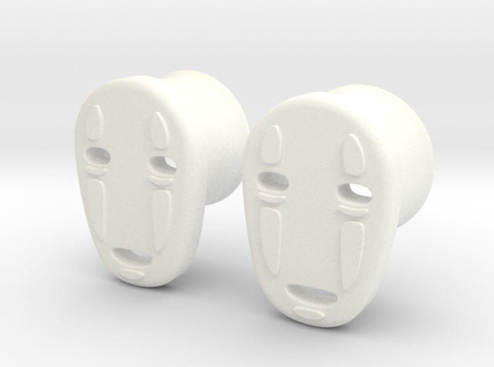"5/8"" Noh Face 3d printed"