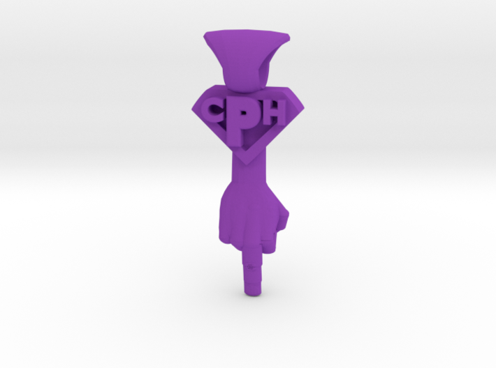 Made-to-order Jewelry - Irreverence Pendant 3d printed