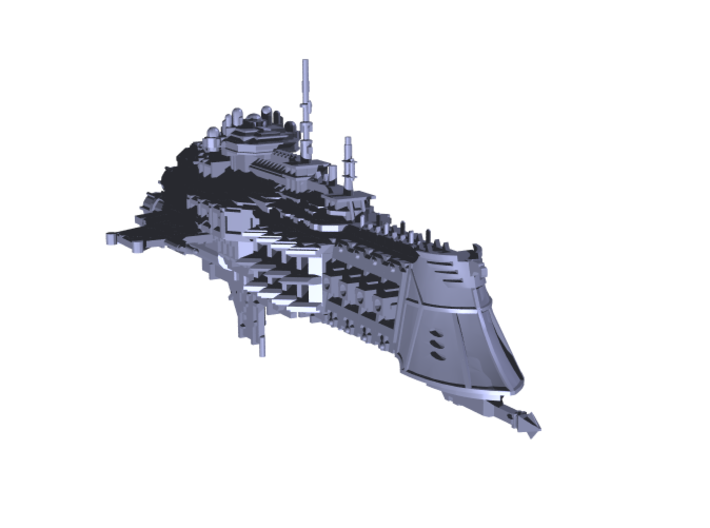 """Imperial Navy """"Dictator"""" Cruiser 3d printed"""