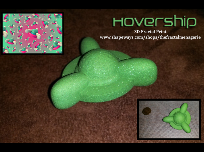 Hovership 3d printed