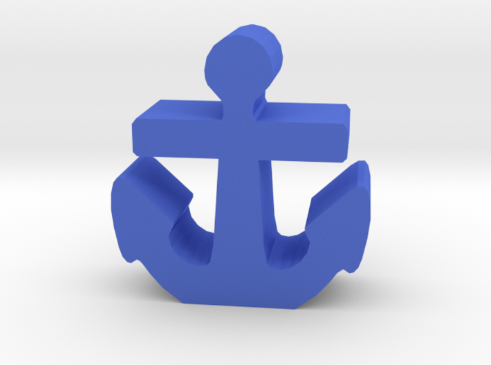 Game Piece, Anchor, Standing 3d printed
