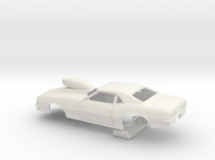 1/18 Pro Mod 68 Camaro With Scoop 3d printed