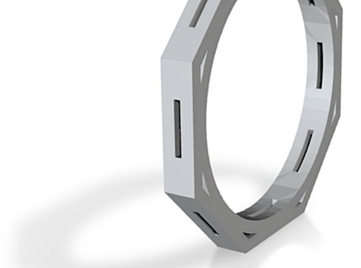 BEVELED RING 3d printed