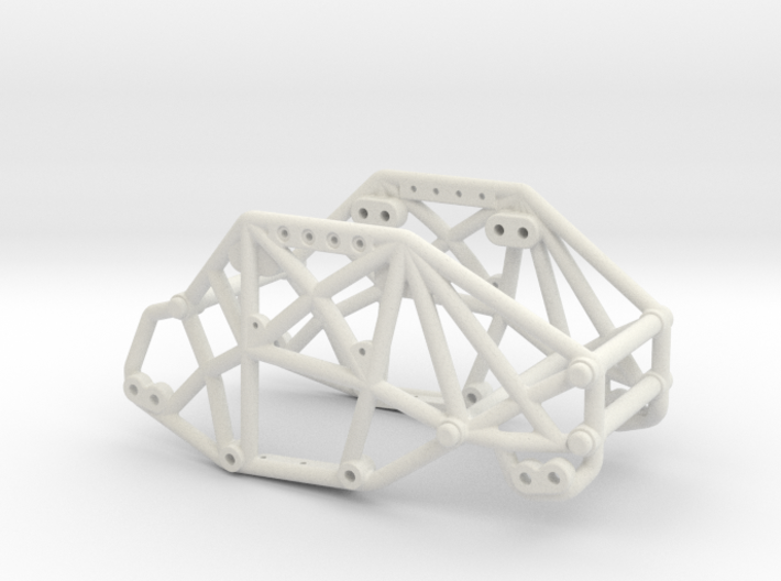 R1 Rock Buggy Chassis for Losi Micro Rock Crawler 3d printed