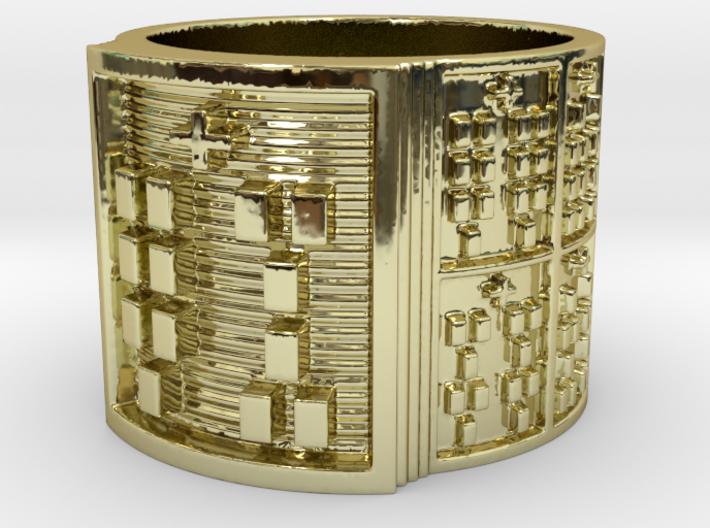 IWORIKANA Ring Size 13.5 3d printed