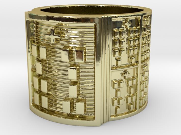IWORIBOKA Ring Size 11-13 3d printed