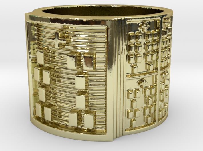 IWORIBOSHE Ring Size 13.5 3d printed