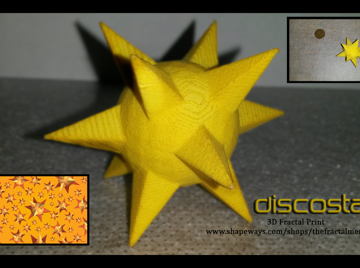 Discostar 3d printed