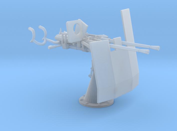 1/32 DKM Double 20mm C/30 Flak w. Shield 3d printed