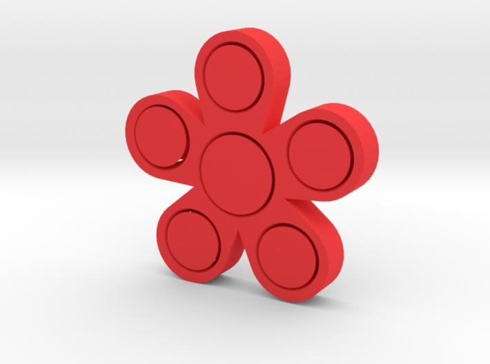 Fidget Flower 3d printed