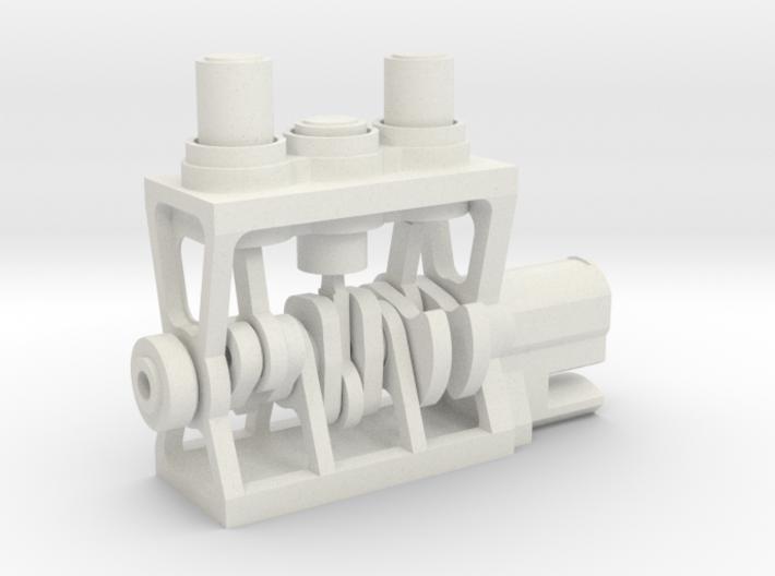 3D Printed Engine 3d printed