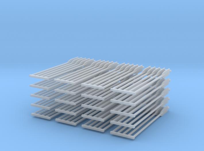Paddles 100ea 3d printed