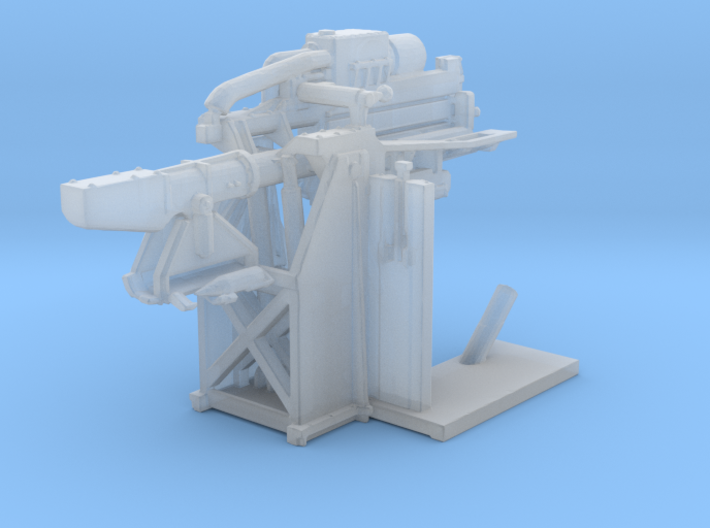 1/150 USN 5 inch Loading Machine Starboard 3d printed