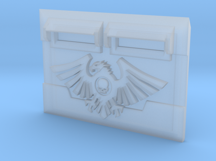 Custodian Wing : M2a Troop Tank Front 3d printed
