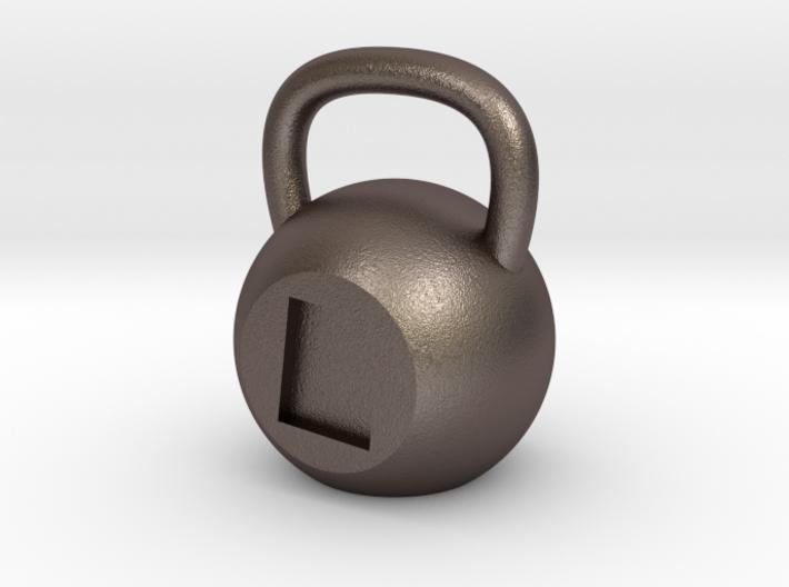 Utah - Stainless Steel 3d printed