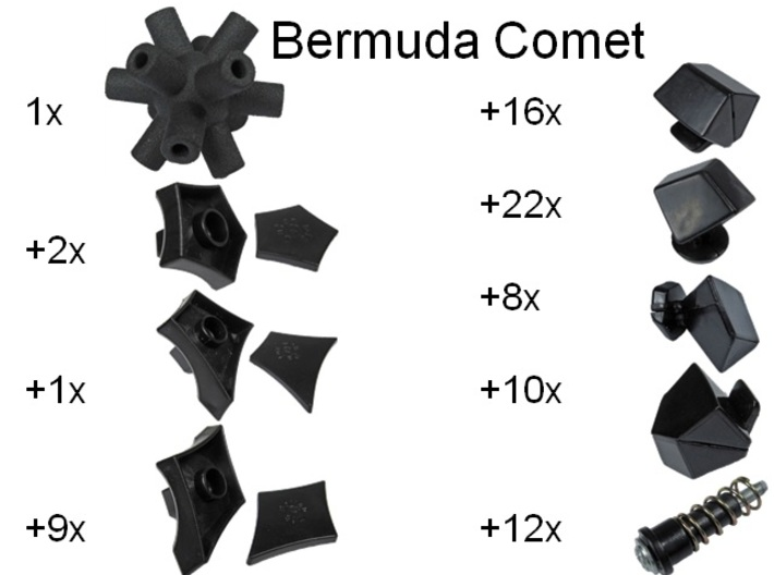 Core for Bermuda Comet 3d printed