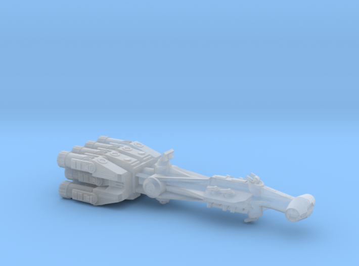 Rebellious Spaceship, 1:4000 3d printed