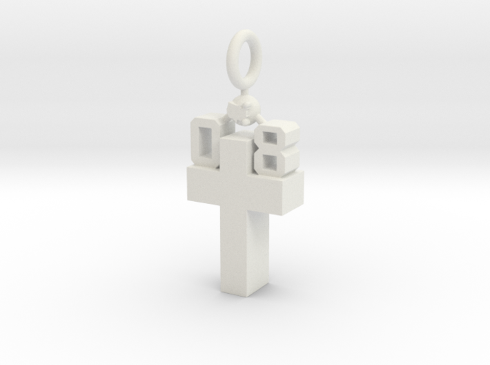 Custom Pendant 3d printed