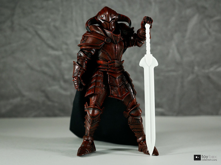 Champion blade for Mythic Legions 3d printed Huge sword!
