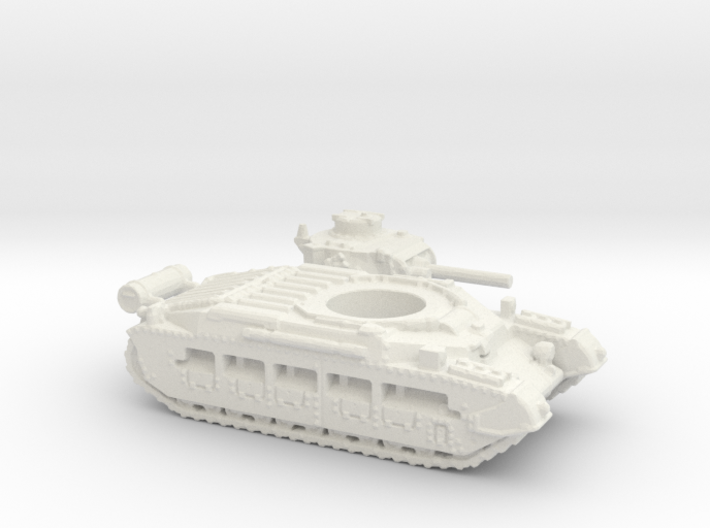 Matilda II with Fuel tank (British) 1/200 3d printed