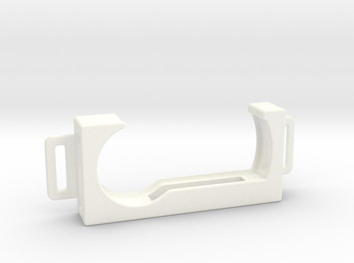 RSA Token Badge Holder 2-Tab 3d printed