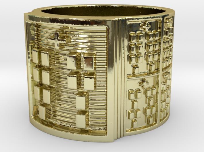 OJUANIPOKON Ring Size 14 3d printed