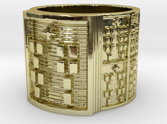 OJUANIBOFUN Ring Size 11-13 3d printed