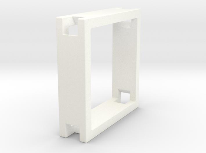 Loop ::: Square Pendant ::: v.01 3d printed