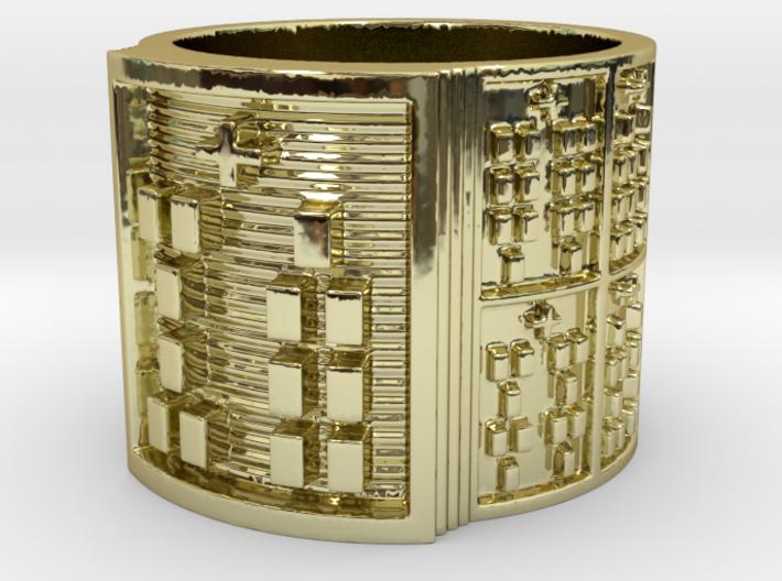 OBARAWORI Ring Size 11-13 3d printed