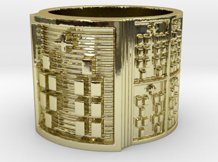 OBARADILA Ring Size 11-13 3d printed